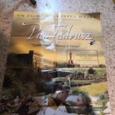 Cine: CARTEL POSTER DE CINE ORIGINAL PELÍCULA PAN TADEUSZ. Lote 262633430