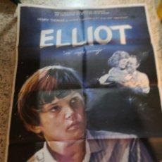 Cine: CARTEL ORIGAL PELÍCULA CINE POSTER ELLIOT MI MEJOR AMIGO. Lote 262686135