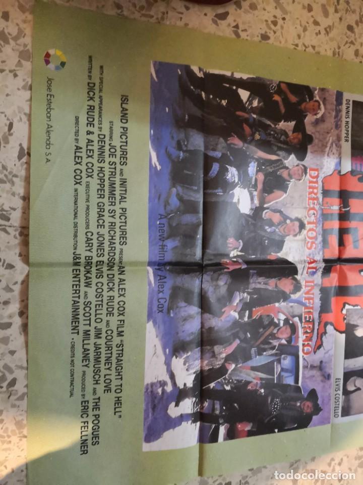 Cine: Raro cartel. directos al infierno straight to hell.Grace Jones,Sue Kiel, Elvis Costello,hopper denni - Foto 3 - 262688140