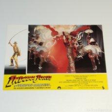 Cine: ANTIGUO FOTO CARTEL DE CINE INDIANA JONES Y EL TEMPLO MALDITO STEVEN SPIELBERG GEROGE LUCAS AÑO 1984. Lote 262779755