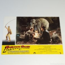 Cine: ANTIGUO FOTO CARTEL DE CINE INDIANA JONES Y EL TEMPLO MALDITO STEVEN SPIELBERG GEROGE LUCAS AÑO 1984. Lote 262779880