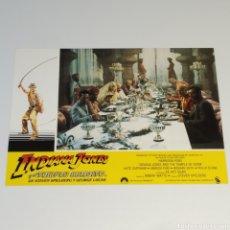 Cine: ANTIGUO FOTO CARTEL DE CINE INDIANA JONES Y EL TEMPLO MALDITO STEVEN SPIELBERG GEROGE LUCAS AÑO 1984. Lote 262780090