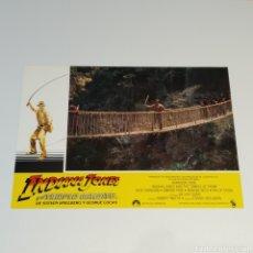 Cine: ANTIGUO FOTO CARTEL DE CINE INDIANA JONES Y EL TEMPLO MALDITO STEVEN SPIELBERG GEROGE LUCAS AÑO 1984. Lote 262780355