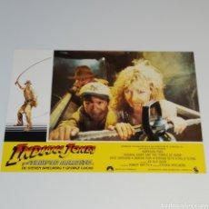 Cine: ANTIGUO FOTO CARTEL DE CINE INDIANA JONES Y EL TEMPLO MALDITO STEVEN SPIELBERG GEROGE LUCAS AÑO 1984. Lote 262781255