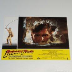 Cine: ANTIGUO FOTO CARTEL DE CINE INDIANA JONES Y EL TEMPLO MALDITO STEVEN SPIELBERG GEROGE LUCAS AÑO 1984. Lote 262781450