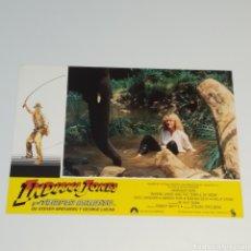 Cine: ANTIGUO FOTO CARTEL DE CINE INDIANA JONES Y EL TEMPLO MALDITO STEVEN SPIELBERG GEROGE LUCAS AÑO 1984. Lote 262781555