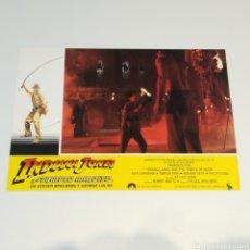 Cine: ANTIGUO FOTO CARTEL DE CINE INDIANA JONES Y EL TEMPLO MALDITO STEVEN SPIELBERG GEROGE LUCAS AÑO 1984. Lote 262781710