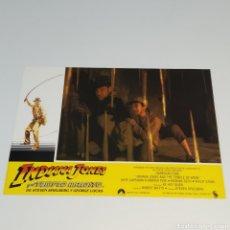 Cine: ANTIGUO FOTO CARTEL DE CINE INDIANA JONES Y EL TEMPLO MALDITO STEVEN SPIELBERG GEROGE LUCAS AÑO 1984. Lote 262781880