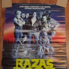 Cine: RAZAS DE NOCHE. UN FILM DE CLIVE BARKER. ORIGINAL.1990.. Lote 262895370