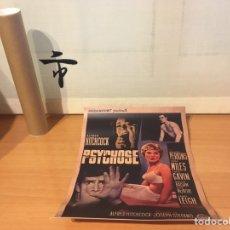 Cine: PÓSTER DE PSICOSIS (29,5 CM X 20,5 CM) EVERYTHINGBLU EXCLUSIVE BLU-RAY ¡NUEVO!. Lote 263042685