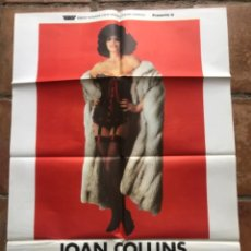 Cine: EL PLACER (THE BITCH), JOAN COLLINS, MICHAEL COBY, GERRY O´HARA 1979. Lote 263240755