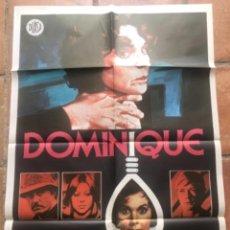 Cine: CARTEL DE LA PELÍCULA DOMINIQUE 1979. MICHAEL ANDERSON.. Lote 263243980