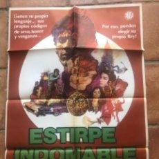 Cine: CARTEL DE CINE ESTIRPE INDOMABLE 1978 FRANK PIERSON.. Lote 263246235