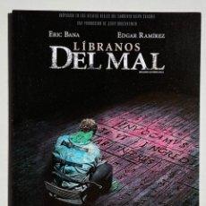 Cine: CUADRO CINE PELÍCULA LÍBRANOS DEL MAL. Lote 263387890
