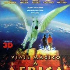 Cine: POSTER VIAJE MÁGICO A ÁFRICA. Lote 263546655