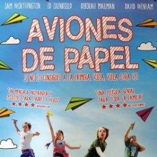 Cine: POSTER AVIONES DE PAPEL. Lote 263552160