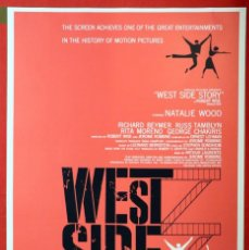 Cine: POSTER WEST SIDE STORY. Lote 263628910