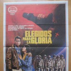 Cine: CARTEL CINE ELEGIDOS PARA LA GLORIA ROBERT CHARTOFF IRWIN WINKLER 1984 C2072. Lote 263668375
