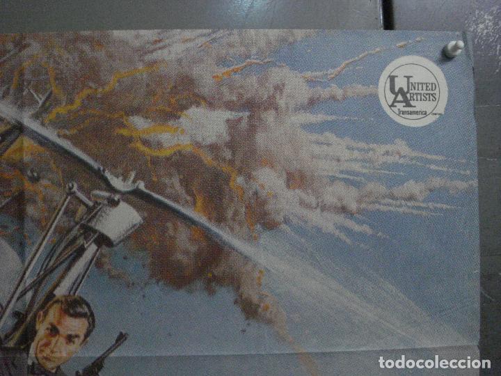 Cine: AAX18 SOLO SE VIVE DOS VECES JAMES BOND 007 SEAN CONNERY POSTER ORIGINAL 70X100 ESTRENO - Foto 6 - 263718005
