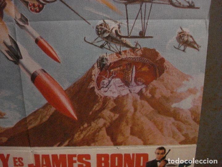 Cine: AAX18 SOLO SE VIVE DOS VECES JAMES BOND 007 SEAN CONNERY POSTER ORIGINAL 70X100 ESTRENO - Foto 8 - 263718005