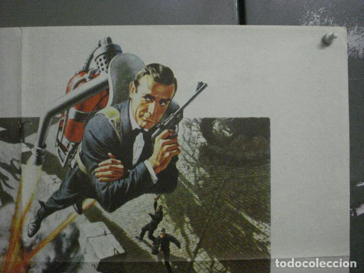 Cine: AAX21 OPERACION TRUENO THUNDERBALL JAMES BOND 007 SEAN CONNERY POSTER 70X100 ESTRENO - Foto 6 - 263721785