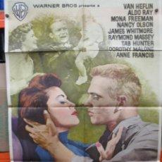 Cine: MAS ALLA DE LAS LAGRIMAS - VAN HEFLIN - RAOUL WALSH - POSTER ORIGINAL - 100 X 70. Lote 263729375