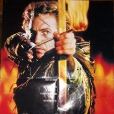 Cine: ROBIN HOOD PRINCIPE DE LOS LADRONES. 1991. CARTEL CINE.. Lote 263740795