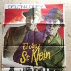 Cine: EL OTRO SR.KLEIN GUIA PUBLICITARIA ORIGINAL ALAIN DELON JOSEPH LOSEY CARTEL ORIGINAL. Lote 263743750