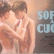 Cine: MAQUETA O ESTUDIO PARA CARTEL SOFFIO AL CUORE.LOUIS MALLE.ENZO SCIOTTI. Lote 263770930