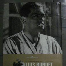 Cine: E2148 EL MUNDO SECRETO DE LUIS BUÑUEL POSTER ORIGINAL 70X100 FESTIVAL DE CANNES 2000. Lote 263774125