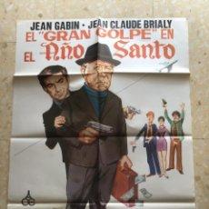 Cine: EL GRAN GOLPE EN EL ANO SANTO -- CARTEL DE CINE ORIGINA 1976.. Lote 263893700