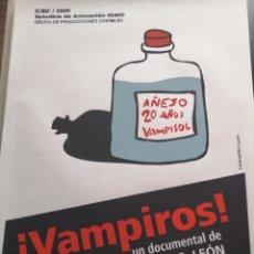 Cine: VAMPIROS! (DOCUMENTAL DE CARLOS E. LEÓN). Lote 263958315