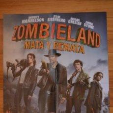 Cine: POSTER O CARTEL DOBLE #095 DE ZOMBIELAND: MATA Y REMATA Y PEAKY BLINDERS. Lote 264082665