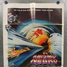 Cine: EL ABISMO NEGRO. MAXIMILIAN SCHELL, ANTHONY PERKINS, ROBERT FORSTER. DISNEY AÑO 1980 POSTER ORIGINAL. Lote 264146676