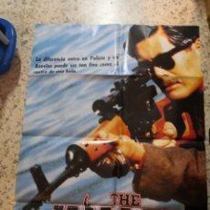 Cine: THE KILLER JOHN WOO CHOW YUN-FAT POSTER ORIGINAL ESTRENO 70X100. Lote 264171596