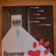 Cine: POSTER O CARTEL DOBLE #111 DE RESERVOIR DOGS Y CAMERON BOYCE. Lote 264195076