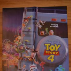 Cine: POSTER O CARTEL DOBLE #115 DE TOY STORY 4 Y THE TWILIGHT ZONE. Lote 264196068