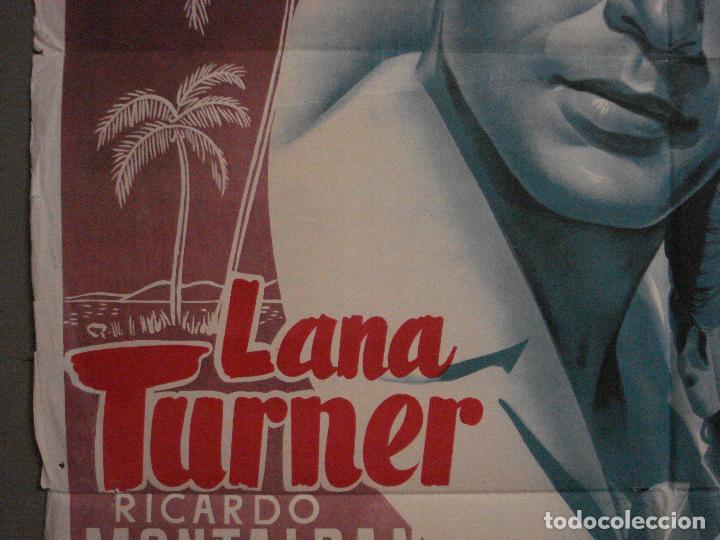 Cine: AAX37 MI AMOR BRASILEÑO LANA TURNER POSTER ORIGINAL ESPAÑOL 70X100 LITOGRAFIA - Foto 3 - 264225740