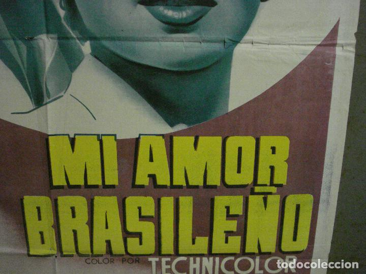 Cine: AAX37 MI AMOR BRASILEÑO LANA TURNER POSTER ORIGINAL ESPAÑOL 70X100 LITOGRAFIA - Foto 8 - 264225740