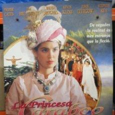 Cine: LA PRINCESA CARABOO - PHOEBE CATES - KEVIN KLINE - POSTER ORIGINAL - 100 X 70. Lote 264227736