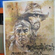 Cinéma: MISSOURI - MARLON BRANDO - JACK NICHOLSON - POSTER ORIGINAL - 100 X 70. Lote 264241988