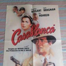Cine: CASABLANCA POSTER CARTEL EDICIÓN LIMITADA Nº 22939 PELÍCULA 1943 WARNER. Lote 264340348