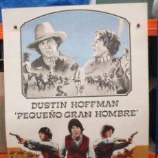 Cinéma: PEQUEÑO GRAN HOMBRE - DUSTIN HOFFMAN - POSTER ORIGINAL - 100 X 70. Lote 264517889