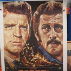Cinéma: DUELO DE TITANES - BURT LANCASTER - KIRK DOUGLAS - MAC POSTER ORIGINAL - 100 X 70. Lote 264527749