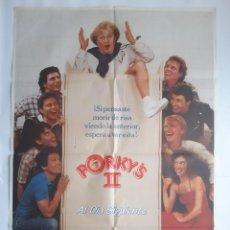 Cinema: ANTIGUO CARTEL CINE PORKY'S II AL DIA SIGUIENTE 1983 RV P32. Lote 264725869