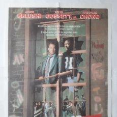 Cinema: ANTIGUO CARTEL CINE EL RECTOR JAMES BELUSHI 1987 RV P49. Lote 265136454