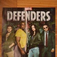 Cine: POSTER O CARTEL DOBLE #131 DE THE DEFENDERS Y DEATH NOTE. Lote 265174114