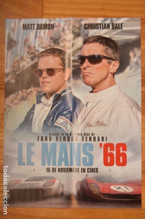 POSTER O CARTEL DOBLE #156 DE LE MANS '66 Y ARROW (Cine - Posters y Carteles - Deportes)