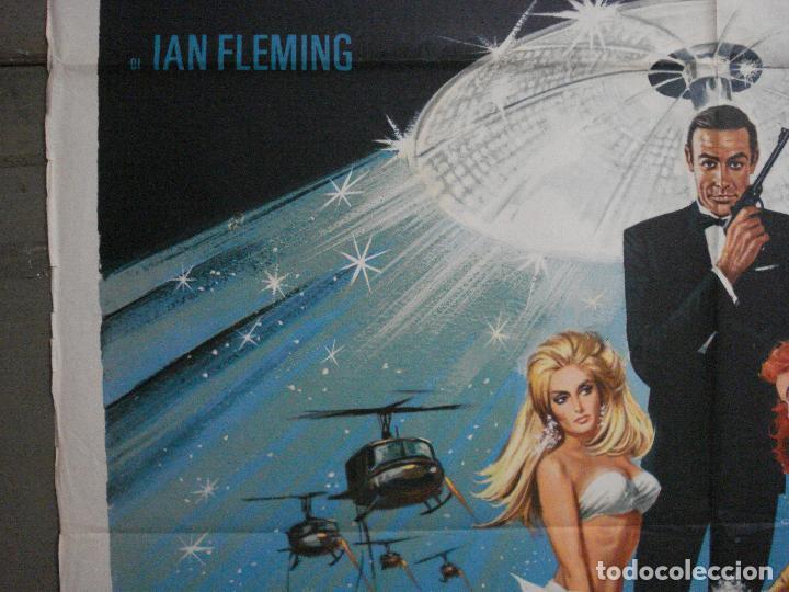 Cine: AAX60 DIAMANTES PARA LA ETERNIDAD JAMES BOND 007 SEAN CONNERY POSTER ORIGINAL 100X140 ITALIANO - Foto 3 - 265335234