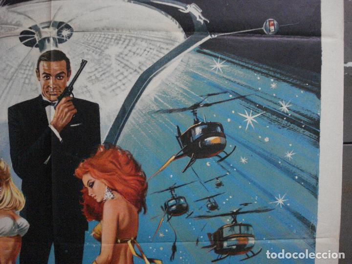 Cine: AAX60 DIAMANTES PARA LA ETERNIDAD JAMES BOND 007 SEAN CONNERY POSTER ORIGINAL 100X140 ITALIANO - Foto 7 - 265335234